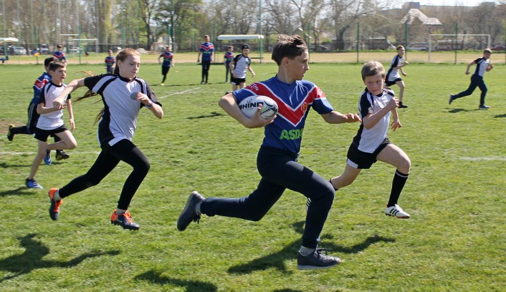 В Одессе пройдет детский регбийный фестиваль